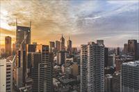 幻想的な都会の画像1